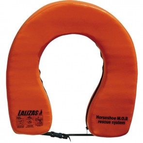 Lalizas horseshoe lifebuoy ''basic i'' orange 140N