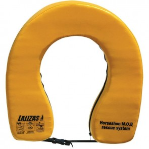 Lalizas horseshoe lifebuoy ''basic i'' yellow 140N