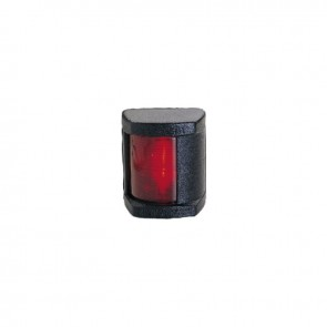 Lalizas Classic 12 bakboord licht rood, zwarte behuizing