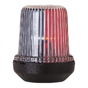 Lalizas Classic 12 tri-color licht, zwarte behuizing