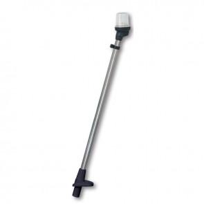Lalizas pole light white, 105cm, zwarte behuizing