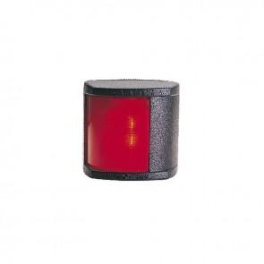 Lalizas Classic 20 bakboord licht rood, zwarte behuizing