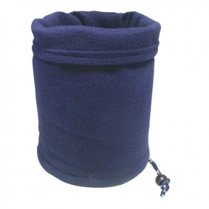 Lalizas fleece neck gaiter - navy