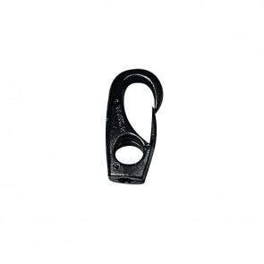 Lalizas elastiekhaak 6mm zwart