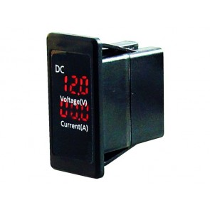 Talamex Volt- & amperemeter 4.5-30V & 0-15A switch model