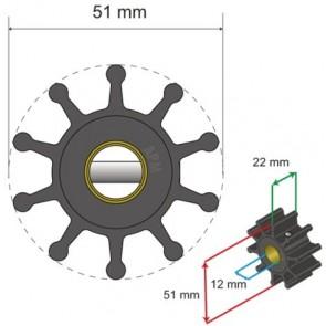 Albin Premium Impeller kit nr. 06-01-011