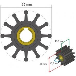 Albin Premium Impeller kit nr. 06-01-018