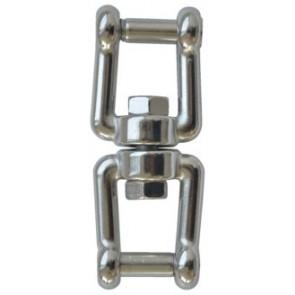 Talamex Wartelsluiting rvs gaffel-gaffel zeskant 6mm