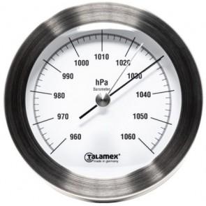 Talamex Barometer rvs 100mm