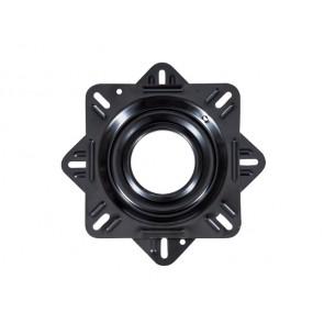 Talamex Draaiplateau zonder lock gecoat zwart