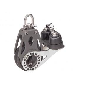 Lewmar ratelblok 1-schijfs met klem 60mm