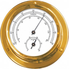 Talamex Thermo-hygrometer messing 110/84mm