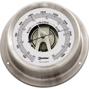 Talamex Barometer rvs 125/100mm
