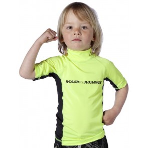 Magic Marine Cube Rash Vest S/S Kids