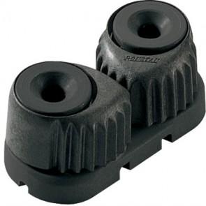 Ronstan C-cleat zwart, small, zwarte basis