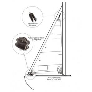 Barton bt356 rolfok trommel tot 9m2 - 95mm