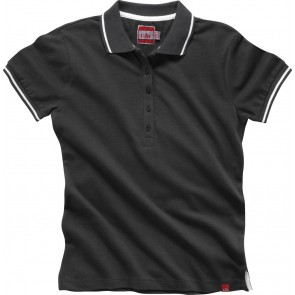 Gill Women's Crew Polo Charcoal