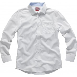 Gill Men's Crew Shirt L/S white