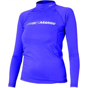 Magic Marine Cube Rash Vest L/S Women