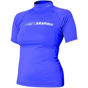 Magic Marine Cube Rash Vest S/S Women