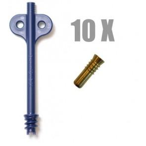 DAN-FENDER Inflation adaptor kit set of 10 pcs