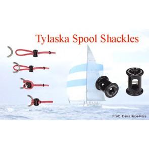 Tylaska spool shackle S-12 voor 8-10mm lijn