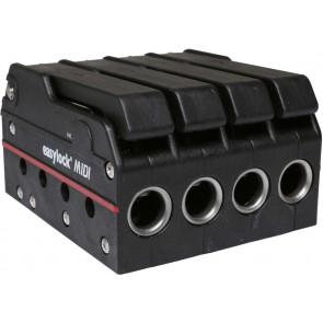 EasyLock Midi valstopper vijfvoudig - zwart