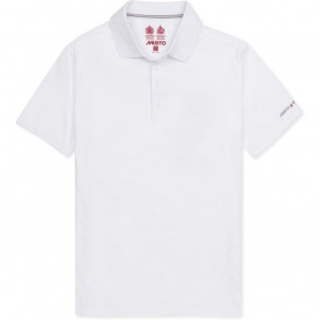Musto Evolution Sunblock Short Sleeve Polo White
