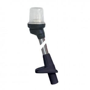 Lalizas pole light white, 130cm, zwarte behuizing