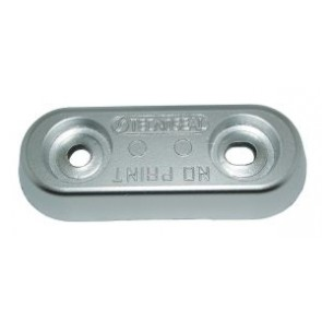 Romp anode zink - 1000g - 150x60mm