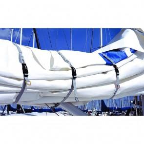 Blue Performance Sail Clips set (3 stuks) Mix (S-M-L)