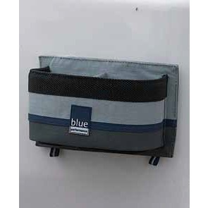 Blue Performance Can holder with hooks