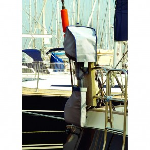 Blue Performance Outboard Cover 3 Breathable