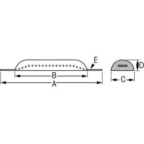 Anode zink 2.2 kg opschroefbaar