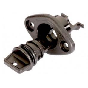 Ronstan lensplug gat 22 mm, zwart