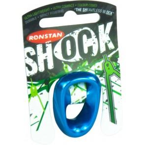 Ronstan Shock XL schijfloos blok 10 mm blauw