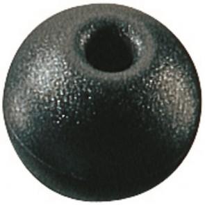 Ronstan kraal 25 mm zwart voor lijn 5 mm