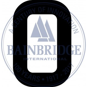 Bainbridge Zeilnummer 300 mm zwart 0