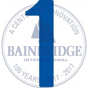 Bainbridge Zeilnummer 300 mm blauw 1