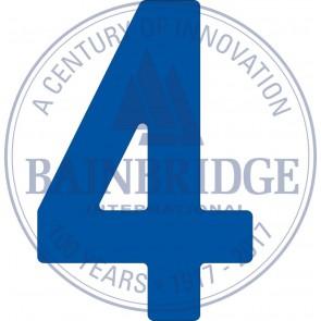 Bainbridge Zeilnummer 300 mm blauw 4