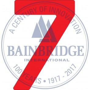 Bainbridge Zeilnummer 300 mm rood 7