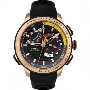Timex IQ Yacht Racer rosegoud-zwart