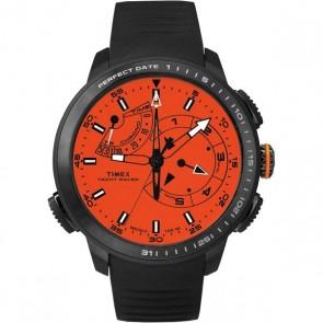 Timex IQ Yacht Racer oranje-zwart