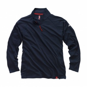 Gill Men's UV Tec Zip Neck L/S Shirt